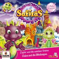 SAFIRAS - 010/ZEPHIR UND DIE WEICHEN STEINE/ZAHRA UND DIE   CD NEW