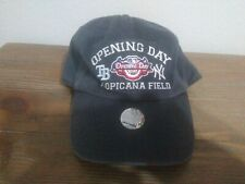 RARE 2009 New York Yankees v Tampa Bay Rays Opening Day TROPICANA FIELD HAT