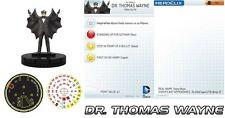 Dr. Thomas Wayne # 102 le MINT CON CA BATMAN LE STRADE DI GOTHAM DC Heroclix OP le
