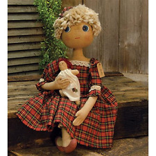 New Country Primitive Collectible Primitive Holly Doll