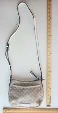 DANA BUCHMAN Cross Body Satchel CREAM BEIGE BLUSH Purse Bag - 24 hour FLASH SALE