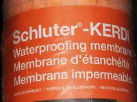Genuine Kerdi Waterproof Membrane Schluter 108 Sq Ft  New in Packaging