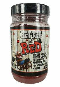 BBQ Rubs - Bulldozer Barbecue - Better Off Red