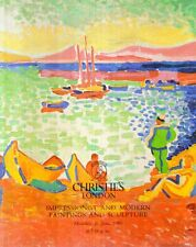 N61 Christie's Impressionist and modern paintings and sculpture 1989