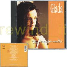 "GIADA ""MI PIACI DA MATTI"" RARO CD 1993 - RUGGERI ENRICO"