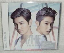 TOHOSHINKI TVXQ TIME Taiwan Ltd CD+Card (14-trks) Dong Bang Shin Ki