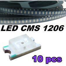114/10# LED CMS 1206 ultra violet -- UV SMD LED -- 10pcs