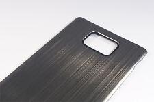 Metall Akkudeckel Gehäuse Battery Cover Case für Samsung Galaxy S2 II i91 (Grau)