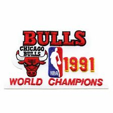 1991 Chicago Bulls NBA World Champions Embroidered Retro Patch
