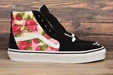 Vans Floral Rose Sk8 Hi Skate Shoes 500714 Mens Size 6