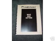 Neway Seat Cutter Instruction Manual