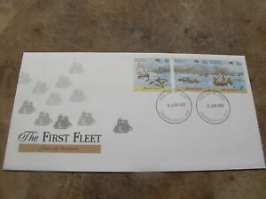 1987 Australia FDC / First Day Cover - The First Fleet - Teneriffe