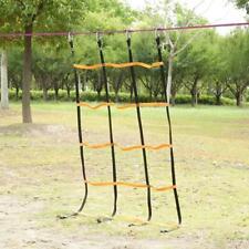 Kids Children Climbing Net Mesh Rope Ladder Backyard Game Hanging Tree Swing