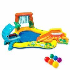 INTEX Piscine gonflable Enfant / Aire De Jeux aquatique Dinosaure