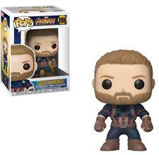 Funko Pop Marvel: Avengers Infinity War - Captain America Collectible Figure