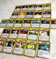 Vintage Japanese Pocket Monsters Trainer Lot of (27) Rare Cards  Exc - NM