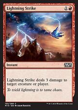 *MRM* FR 4x Frappe foudroyante (Lightning Strike) MTG Magic 2010-2015
