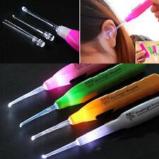 EarPick LED Flashlight Ear Wax Remover Cleaner Tool Curette New for Baby Kids