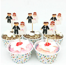 Wedding Cake Topper Bride Groom Mr Mrs Cake Toppers Wedding Decoration Marriage