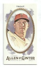 2017 Topps Allen & Ginter (A&G) MIKE TROUT Mini EXT from RIP CARD SSP #376