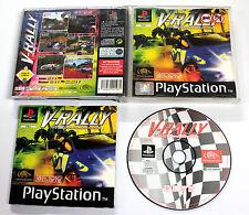 Sony PLAYSTATION PSX PSOne V-RALLY CHAMPIONSHIP '97 1997 Infogrames SLES-00250