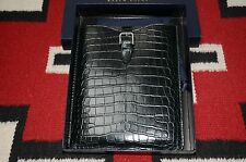 Ralph Lauren Purple Label Made in Italy Alligator Crocodile Ipad Case Cover