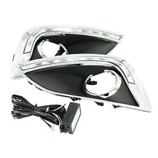 For Hyundai ix35 2010 2011 2012 2013 2Pcs LED DRL Daytime Running Lights