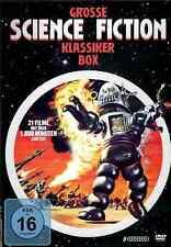 Große Science Fiction Klassiker Box   21 Filme   8 DVDs   Sammlung [FSK16] DVD