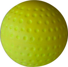 1 DOZEN - PROFESSIONAL YELLOW COLOR PVC DIMPLE HOCKEY BALL MATCH GAME 156 GMS