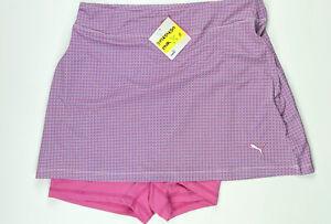 Puma Golf Skort Skirt Pink Size Small