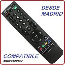 MANDO A DISTANCIA  TELEVISION LG COMPATIBLE.  AKB69680403