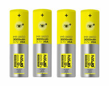 MXJO 18650 3Ah Rechargeable Batteries - 4 Count