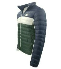 Men's Nike Puffer Jacket Synthetic Filled BV4685-451 Blue White Green $160