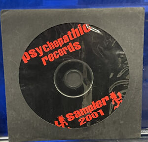 Psychopathic Records - Sampler 2001 CD insane clown posse marz dark lotus icp