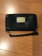 Michael Kors Zip Around Wallet Black