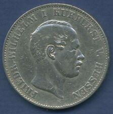 Hessen-Kassel Vereinstaler 1863, Friedrich Wilhelm I., J 48 b ss (m2420)