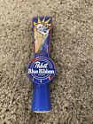 Brand New Pabst Blue Ribbon Beer Porcelain Tap Handle - PBR Art Knob - FREE S/H