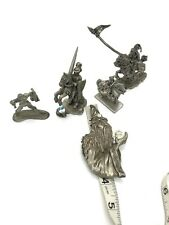 Pewter Miniatures Wizards Knight Dungeons Dragons D&D Oop Rare Ad&D! Rawcliffe