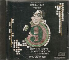 CD COMEDIE MUSICALE BROADWAY--NINE--TOMMY TUNE