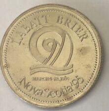 1995 ~ LABATT BRIER ~ NOVA SCOTIA ~ 15TH ANNIVERSARY ~ BRIER BEAR TOKEN