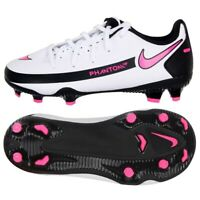 Scarpe da calcio Nike Phantom Gt Club FG / MG Jr DC9466-160 bianco multicolore