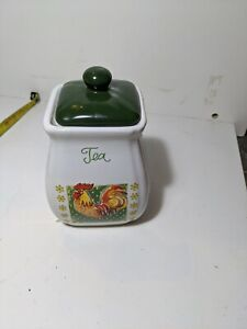Ceramic Tea Caddy / storage jar