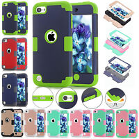 New Shockproof Hard Case Cover For Apple iPod Touch 5 6th Gen iPhone 5s 6 7 Plus