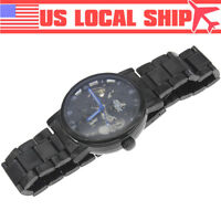 New Mens Automatic Mechanical Analog Transparent Skeleton Wrist Watch FREE SHIP