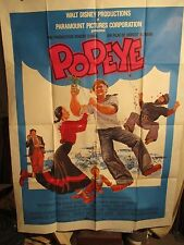 AFFICHE CINEMA POPEYE  DISNEY/ALTMAN  1981
