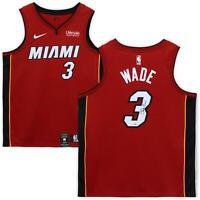 Dwyane Wade Miami Heat Autographed Red Nike Swingman Jersey