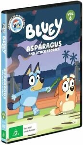 BRAND NEW Bluey : Volume 6 (DVD, 2020) R4 Asparagus and Other Stories