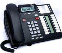 Nortel Norstar T7316E Charcoal Avaya Phone (NT8B27JAAA)