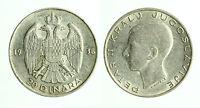 pcc1784_4) Yugoslavia 20 dinara 1938 Petar II - Silver