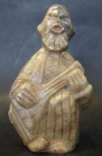 Speckstein-Figur, Mandolinenspieler, H-11 cm  (253/10054)